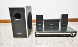 Samsung DVD Home Theatre System in very good condition,