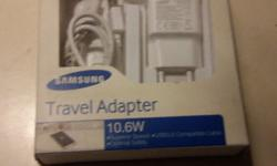 New, in box Samsung EP-TA10EWE Travel Adapter (White) �