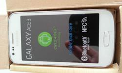 Samsung Galaxy Ace 3 LTE for sale!! Brand new in box!