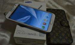 Samsung Galaxy Note 2 full Set $550.00 fixed Never