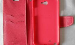 Samsung galaxy note 2, Mercury goospery red cover case