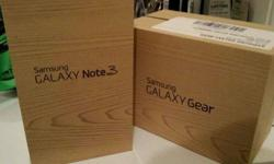 Samsung Galaxy Note 3 Pink+Gear Watch 2 Pink 32GB and