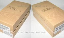 Samsung Galaxy S4 packing box Please see pictures -