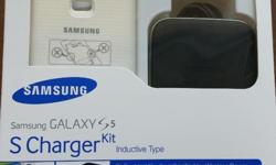 Brand new Samsung Galaxy S5 Charger Kit. Wireless