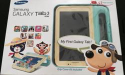 Hardly used Samsung Galaxy Tab 3 Kids Description: