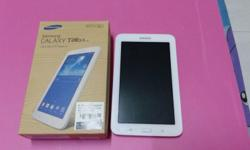 WTS my preloved samsung galaxy tab 3 lite. Colour cream