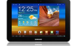 I'm selling my one month old Samsung Galaxy tab as