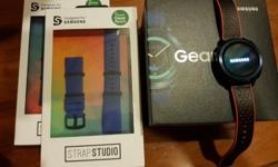Samsung Gear Sport Watch to Sell With 2 new Straps (Not