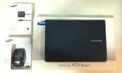 Almost brand new Samsung Laptop NP900X3F, it's a really
