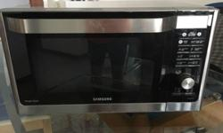 Good condition Samsung Microwave Oven. Large enough to