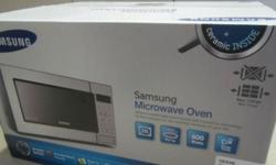 A brand SAMSUNG MICROWAVE OVEN WITH GRILL (23L) - Model