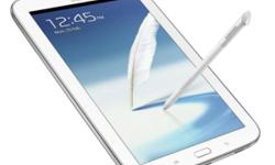Samsung note 8 wifi white with good condition