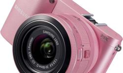 SELLING MY SAMSUNG NX1000 CAMERA (PINK) IN GOOD