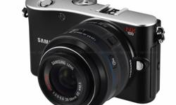 Selling Samsung NX100 camera and accessories. Kit