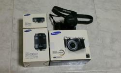 Selling used Samsung NX300 20.3MP CMOS Smart WiFi & NFC