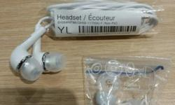 - New samsung original earpiece - White colour - With