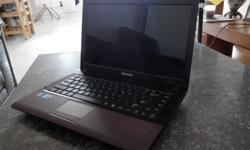 "I have a used 14"" Samsung R440 Intel Core i5 M450"