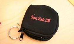 Sandisk Memory Card Pouch, can store 2 x CF cards, or