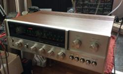 Beautiful Sansui 661! Real wood case! Fully serviced