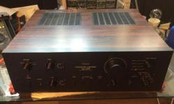 Fantastic Sansui amp. Fully serviced and recapped(using