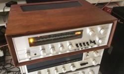 I have for sale some really nice vintage receivers. All