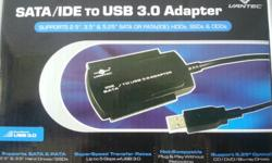 SATA/IDE to USB 3.0 Adapter Bought 2 days ago on