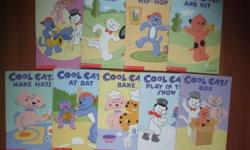 Scholastic - Cool cats 10 books Paperback Price is for