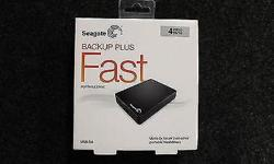 "You are bidding for Seagate 4TB 2.5"" Back Up Plus Fast"