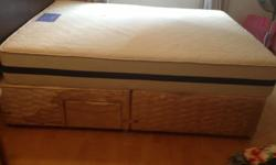 Sealy Kingsize Base Bought in England 4 years ago - may