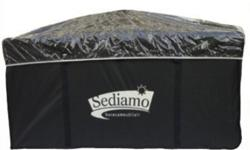 For sale Sediamo Storage box for lounge set cushions.