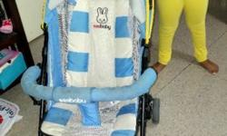 see baby stroller for sale..as my baby outgrown..