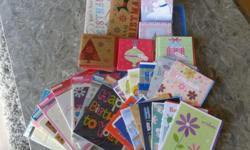 Large Selection of Christmas and Birthday Cards. Mix of