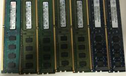 Selling 7 2GB DDR3 Desktop Memory. I have recently