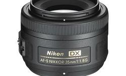 Selling 3 months old Nikkor 35 mm 1.8G lens