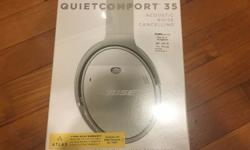 A brand new and sealed Bose QC35, acoustic noise