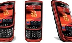 Hi all, I'm selling a set of red Blackberry Torch 9800