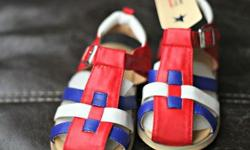 Brown- Size: 15cm Red/blue/white- Size: 17cm Price: