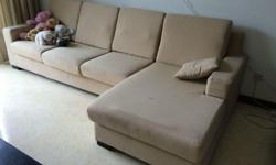 We are moving and selling our 3 years old sofa. It's
