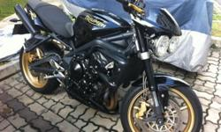 Letting go my Triumph 675 Street Triple R, due to