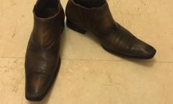 Selling brand new pure leather shoes from New York in