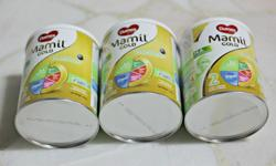 Selling 3tins of Dumex Mamil Gold 400gm baby milk