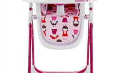 Selling Brand New NSingaporelisted Supa Highchair( pink