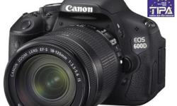 Selling Selling Canon EOS600D , EF-S 18-135 IS with all