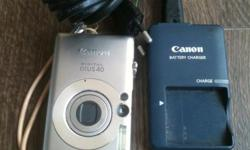 Selling canon ixus 40. Can record video only. Contact