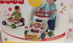selling fisherprice walker with music good condition