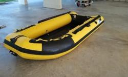 Hi selling china brand inflatable boat length 3.30m