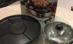 Selling 2 in 1 multi purpose steamboat and hot plate.