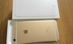 Selling IPhone 6 Gold 64GB Local Full Box Set Good As