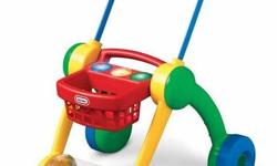 A great compact, light walking toy. The toys which roll