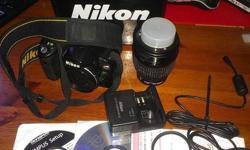 Selling my Nikon D40 DSLR Camera kit set with